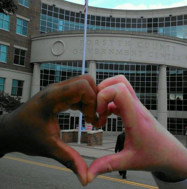 love hands photo