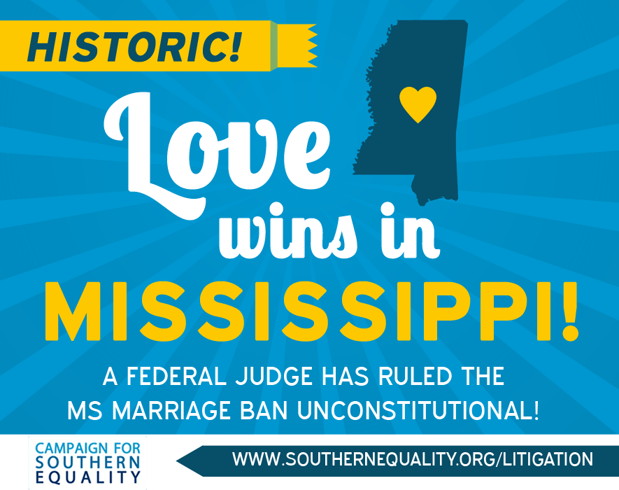 Love Wins Mississippi