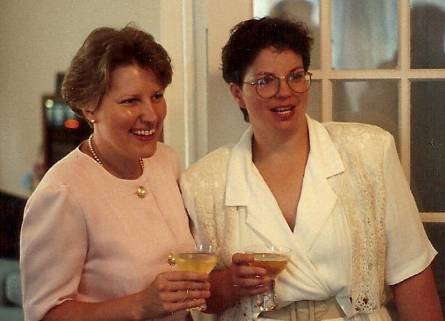 Kathryn and Susan wedding day