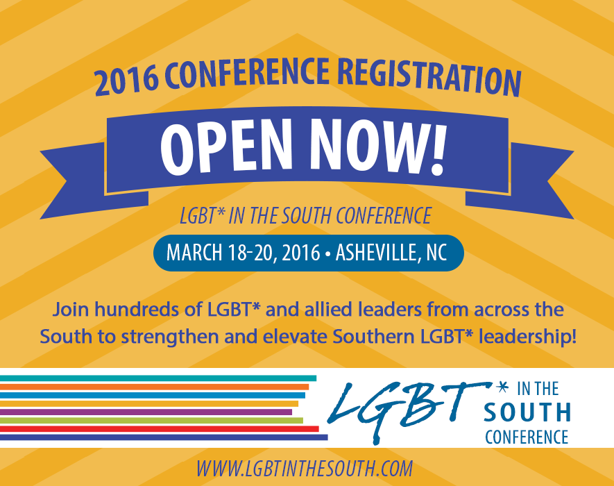 2016 LGBT* in the South Conference
