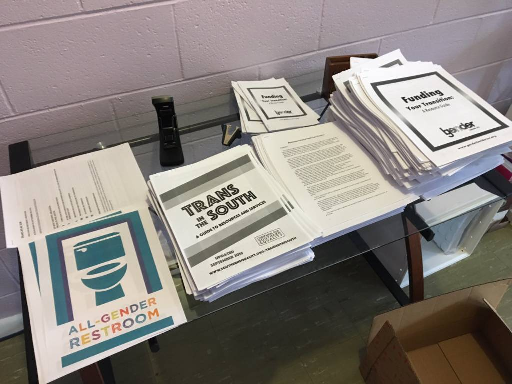 Photo Of Miss Legal Docs Printed Out For CLWs Campaign For - Legal docs