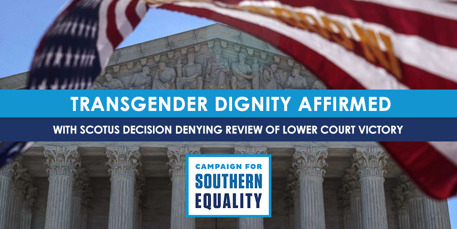 Us Supreme Court Denies Review In >> U S Supreme Court Allows Transgender Inclusive Ruling To Stand